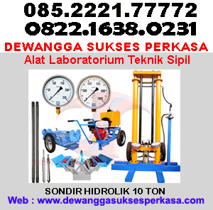 Jual Sondir Manual Sondir Hidraulik Sondir 5 Ton Sondir 10 Ton Alat Daya Dukung Tanah Alat Laboratorium Teknik Sipil