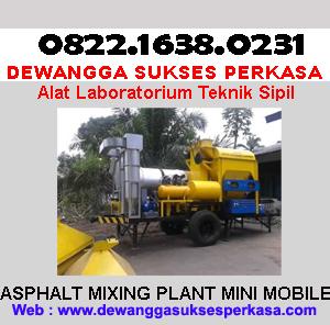 JUAL ASPHALT MIXING PLANT MINI MOBILE
